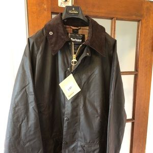 Barbour Beaufort Waxed Cotton Jacket—Rustic color